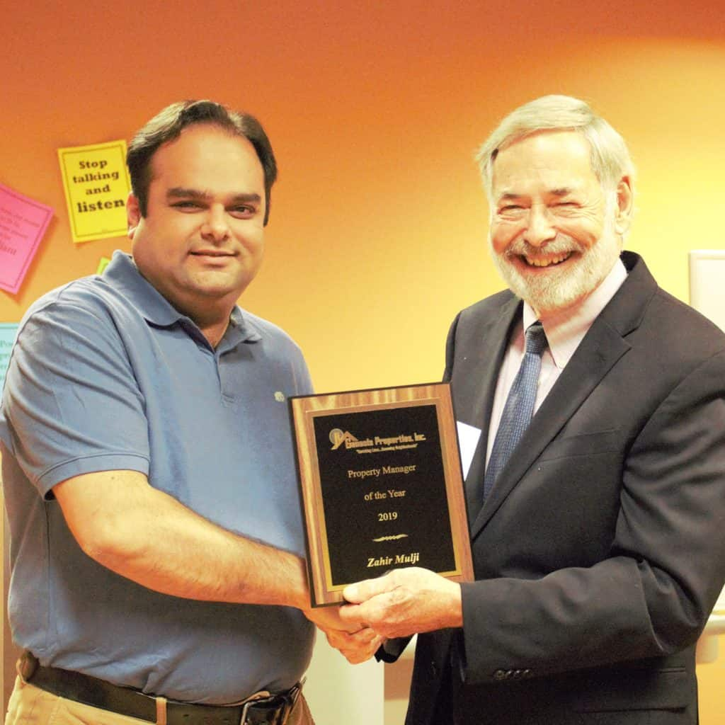 Genesis Properties 2019 Property Manager of the Year - Zahir Mulji